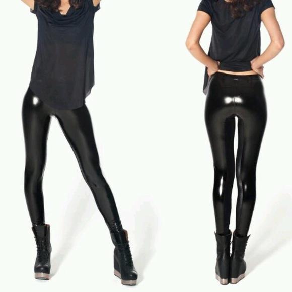2ccfc40541496e Blackmilk Pants | Black Milk Wet Look Slicks Leggings | Poshmark